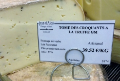 Tome with Truffle at Jean d'Alos
