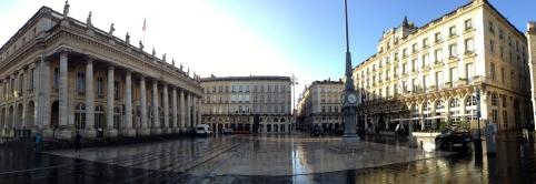 Opera National de Bordeaux and Intercontinental Hotel