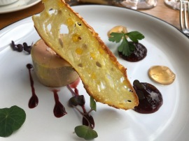 la chapelle foie gras