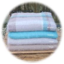 Mohair blankets Ta Tison Douce Ferme